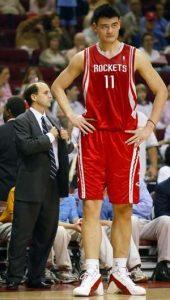 Yao Ming was a big dude, huh?